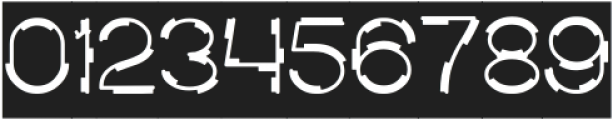 MICK JAGGED-Inverse otf (400) Font OTHER CHARS