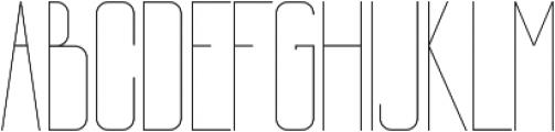 Mia Light ttf (300) Font LOWERCASE