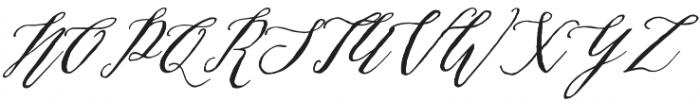 Michaela Script otf (400) Font UPPERCASE