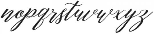 Michaela Script otf (400) Font LOWERCASE