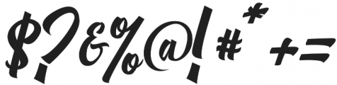 Michail Script  Regular otf (400) Font OTHER CHARS