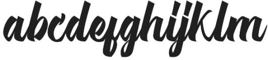 Michail Script  Regular otf (400) Font LOWERCASE