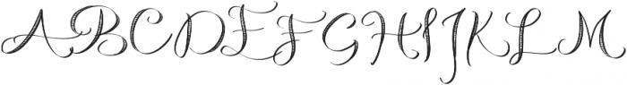 Michelle Handlettering Medium otf (500) Font UPPERCASE