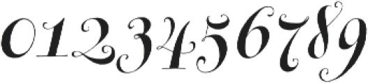 Michiana Pro Regular otf (400) Font OTHER CHARS