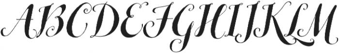 Michiana Pro Regular otf (400) Font UPPERCASE