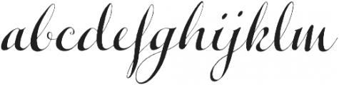 Michiana Pro Regular otf (400) Font LOWERCASE