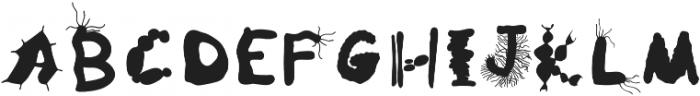 Microbiology Regular otf (400) Font UPPERCASE