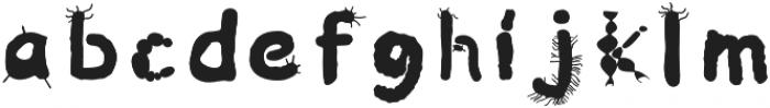 Microbiology Regular otf (400) Font LOWERCASE