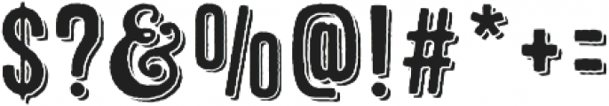 Microbrew One 3D otf (400) Font OTHER CHARS