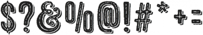 Microbrew One Combined otf (400) Font OTHER CHARS
