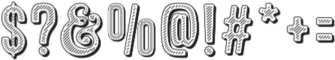 Microbrew Soft Nine otf (400) Font OTHER CHARS