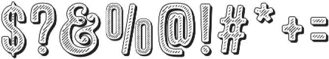 Microbrew Soft Ten otf (400) Font OTHER CHARS