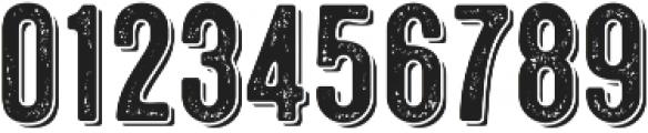 Microbrew Soft Three 3D otf (400) Font OTHER CHARS
