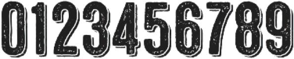 Microbrew Three 3D otf (400) Font OTHER CHARS