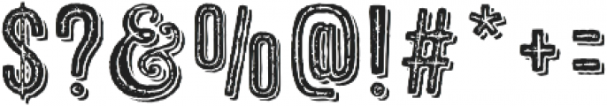 Microbrew Three Combined otf (400) Font OTHER CHARS