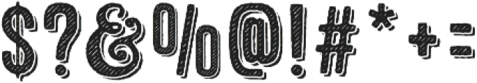 Microbrew Two 3D otf (400) Font OTHER CHARS