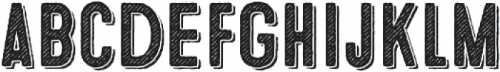 Microbrew Two 3D otf (400) Font LOWERCASE