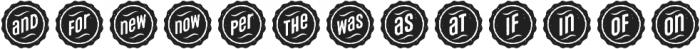 Microbrew Unicase Catchwords otf (400) Font UPPERCASE