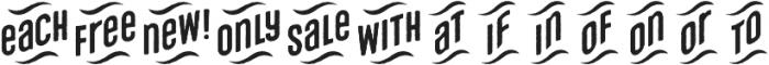 Microbrew Unicase Catchwords otf (400) Font LOWERCASE