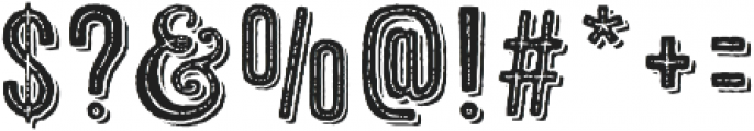Microbrew Unicase One Combined otf (400) Font OTHER CHARS