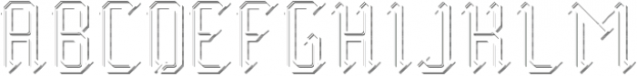 Midieval TextureAndShadowFX otf (400) Font UPPERCASE