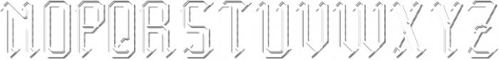 Midieval TextureAndShadowFX otf (400) Font LOWERCASE