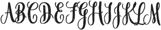 Midnight otf (400) Font UPPERCASE