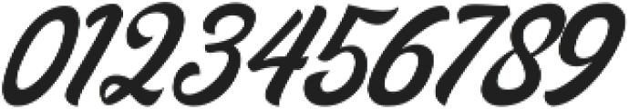 Midtown Script otf (400) Font OTHER CHARS