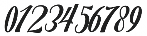 Mighttel otf (400) Font OTHER CHARS
