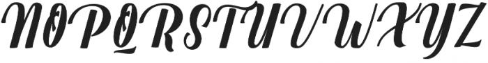 Mighttel otf (400) Font UPPERCASE