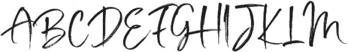 Mighty Girl otf (400) Font UPPERCASE