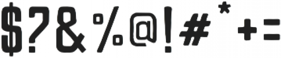 Mightype otf (400) Font OTHER CHARS