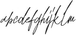 Mihawk otf (400) Font LOWERCASE