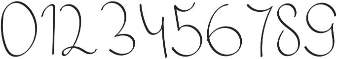 Mikaela Alt otf (400) Font OTHER CHARS