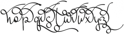 Mikaela Alt2 otf (400) Font LOWERCASE