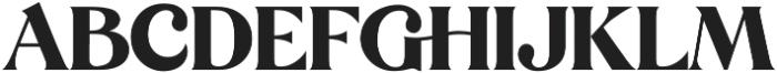 Mikela Regular ttf (400) Font UPPERCASE
