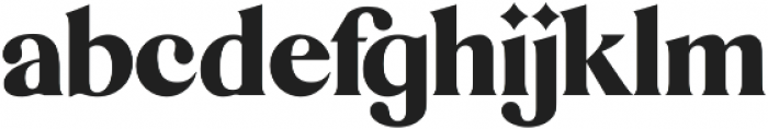 Mikela Regular ttf (400) Font LOWERCASE