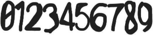 Mikuru otf (400) Font OTHER CHARS