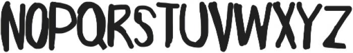 Mikuru ttf (400) Font UPPERCASE