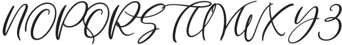 Milady otf (400) Font UPPERCASE