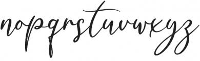 Milady otf (400) Font LOWERCASE