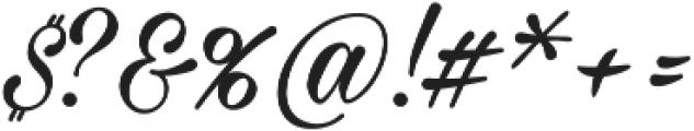 Milasian Circa ttf (400) Font OTHER CHARS