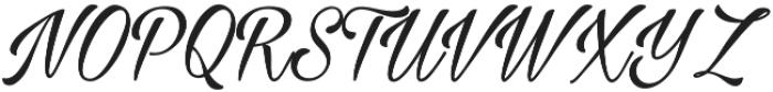 Milasian otf (500) Font UPPERCASE