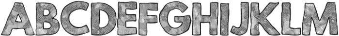 Mild Life Textured otf (400) Font LOWERCASE