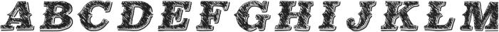 MildEast ttf (400) Font UPPERCASE
