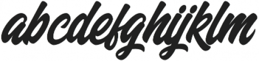 Milestone otf (400) Font LOWERCASE