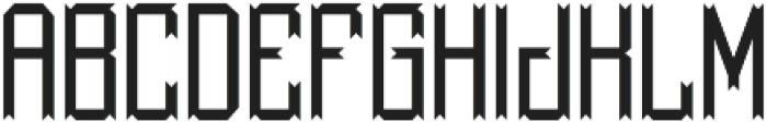 MilestoneFont Regular otf (400) Font UPPERCASE