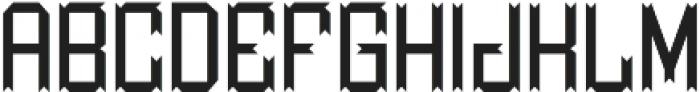 MilestoneFont Regular otf (400) Font LOWERCASE