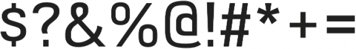 Milibus Light otf (300) Font OTHER CHARS