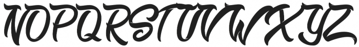 Miliki otf (400) Font UPPERCASE